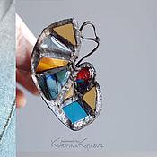 Украшения ручной работы. Ярмарка Мастеров - ручная работа Lagarta brooch. Handmade.