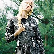 Одежда ручной работы. Ярмарка Мастеров - ручная работа Костюм брючный льняной вышитый Арахна. Handmade.