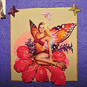 Дизайн и реклама ручной работы. Ярмарка Мастеров - ручная работа Объемная фотооткрытка. Handmade.