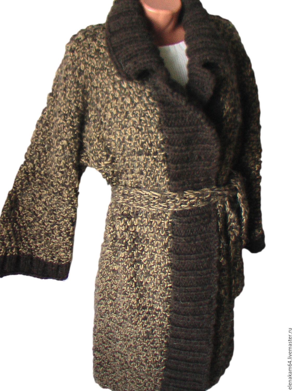 Вязанное пальто купить