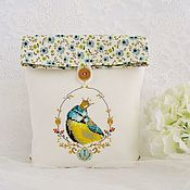 Сумки и аксессуары handmade. Livemaster - original item Cosmetic bag with hand embroidery
