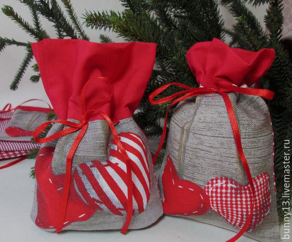 Мешочек для подарков с