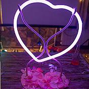Свадебный салон ручной работы. Ярмарка Мастеров - ручная работа Сердце стеклянное  для свадебного обряда Слияние двух судеб. Handmade.