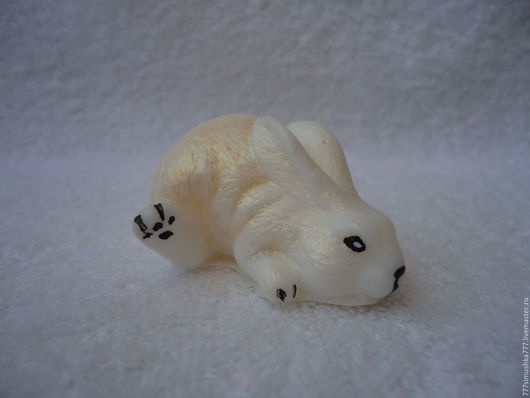 """Мыло ручной работы. Ярмарка Мастеров - ручная работа. Купить Мыло """"Зайка"""" (3D). Handmade. Мыло ручной работы, Пасха"""