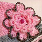 """Работы для детей, ручной работы. Ярмарка Мастеров - ручная работа шапочка """"Розовый цветочек"""". Handmade."""