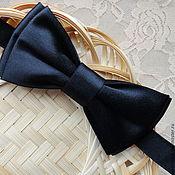 Бабочка галстук из атласа