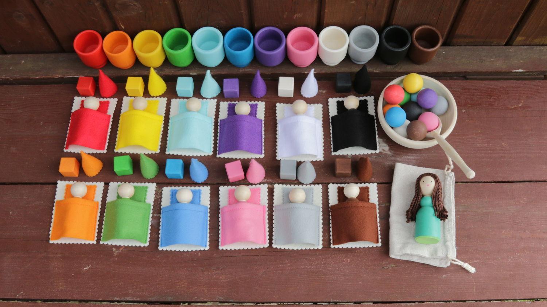 """""""Детский сад"""" - развивающие деревянные игрушки, Кукольная еда, Москва,  Фото №1"""
