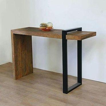 Мебель ручной работы. Ярмарка Мастеров - ручная работа Стол письменный лофт. Handmade.