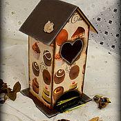 """Для дома и интерьера ручной работы. Ярмарка Мастеров - ручная работа Чайный домик """"Конфетный"""". Handmade."""