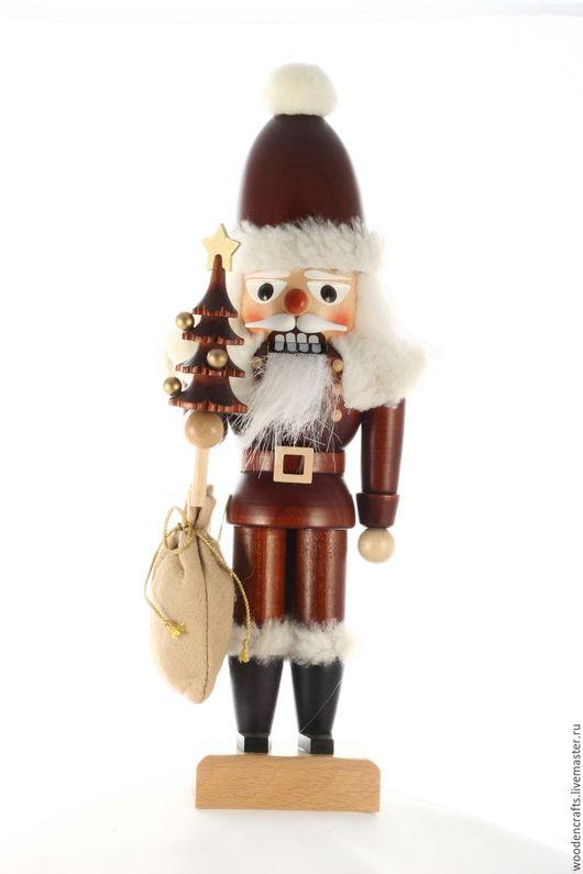 Новый год 2017 ручной работы. Ярмарка Мастеров - ручная работа. Купить Санта Клаус. Handmade. Разноцветный, подарок родителям, дерево