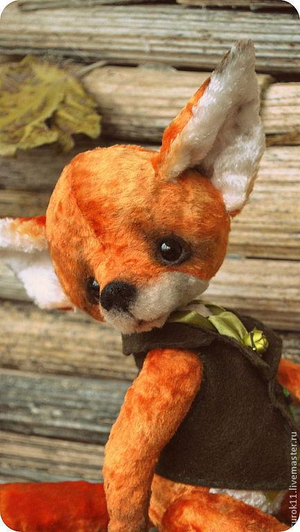 Мишки Тедди ручной работы. Ярмарка Мастеров - ручная работа. Купить Филипп. Handmade. Рыжий, лисица, лисички