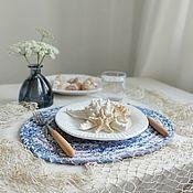 Для дома и интерьера handmade. Livemaster - original item Serving napkin, placemat. Handmade.