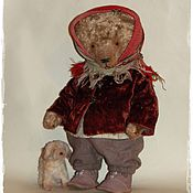 Куклы и игрушки ручной работы. Ярмарка Мастеров - ручная работа На прогулку. Handmade.