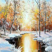 Картины и панно handmade. Livemaster - original item Oil painting Patagia roskoshi Vladimir Chernov. Handmade.
