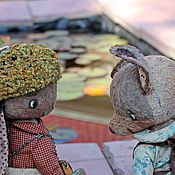 Куклы и игрушки ручной работы. Ярмарка Мастеров - ручная работа Стеша и Тото. Handmade.