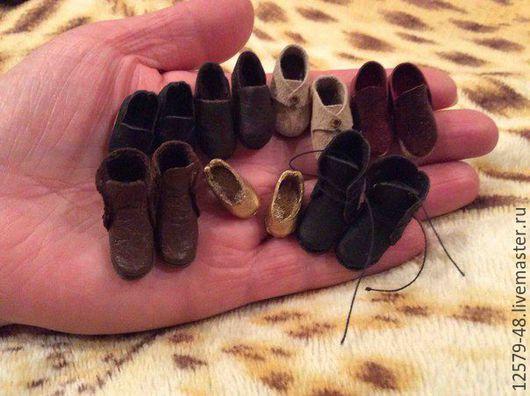 Одежда для кукол ручной работы. Ярмарка Мастеров - ручная работа. Купить Обувь для кукол. Handmade. Обувь для кукол купить