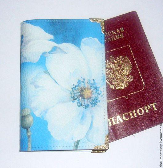 """Обложки ручной работы. Ярмарка Мастеров - ручная работа. Купить Обложка для паспорта или автодокументов, серия """"Lisa Audit"""". Handmade."""