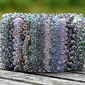Украшения handmade. Livemaster - original item Bracelet silver Rain. Handmade.