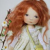 Куклы и игрушки ручной работы. Ярмарка Мастеров - ручная работа Девочка-гномочка в зеленом. Handmade.