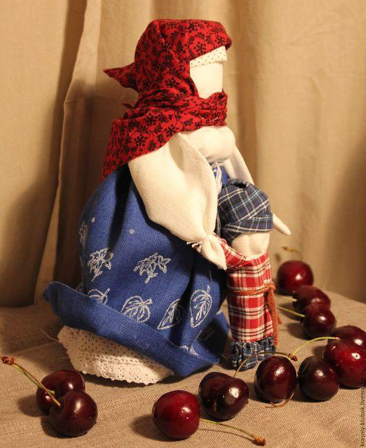Народные куклы ручной работы. Ярмарка Мастеров - ручная работа. Купить Ведучка. Handmade. Разноцветный, народные куклы, подарок