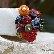 """Украшения ручной работы. Ярмарка Мастеров - ручная работа Кулон лэмпворк """"Ягодная гроздь"""". Handmade."""