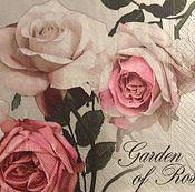 Салфетка раритет Старинные  розы