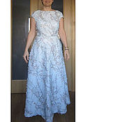 """Платья ручной работы. Ярмарка Мастеров - ручная работа Платье вечернее """"Яблоневый цвет"""". Handmade."""