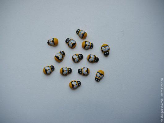 Другие виды рукоделия ручной работы. Ярмарка Мастеров - ручная работа. Купить Пчелка, божья коровка. Handmade. Разноцветный, пчела