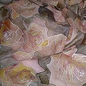 """Аксессуары ручной работы. Ярмарка Мастеров - ручная работа """"Чайные розы-2"""". Handmade."""