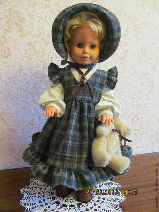 Clothes for Dolls handmade. Livemaster - handmade. Buy dresses for dolls of any size.Dolls, old