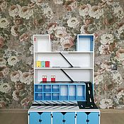 """Кукольные домики ручной работы. Ярмарка Мастеров - ручная работа Паркинг """"Мегаполис"""". Handmade."""