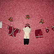 """Подарки к праздникам ручной работы. Ярмарка Мастеров - ручная работа Гирлянда """"Подготовка к Новому году"""". Handmade."""