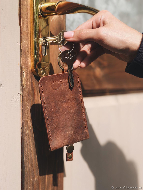 Ключница из натуральной кожи Vintage, Ключницы, Санкт-Петербург, Фото №1