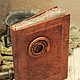 Блокноты ручной работы. Ярмарка Мастеров - ручная работа. Купить Колдовской дневник. Handmade. Коричневый, дневник для записей, змея