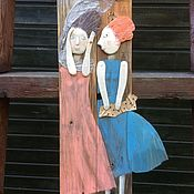 Для дома и интерьера ручной работы. Ярмарка Мастеров - ручная работа Ветер. Шарфики.. Handmade.