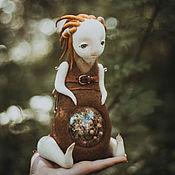 Куклы и игрушки ручной работы. Ярмарка Мастеров - ручная работа Коллекционная войлочная кукла Бошетунмай. Handmade.