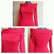 Одежда handmade. Livemaster - original item Red dress short. Handmade.