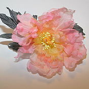 """Цветы и флористика ручной работы. Ярмарка Мастеров - ручная работа Пион """"Розовая нежность"""". Handmade."""