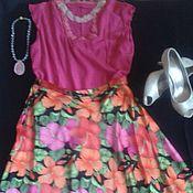 Одежда ручной работы. Ярмарка Мастеров - ручная работа Костюм топ и юбка. Handmade.