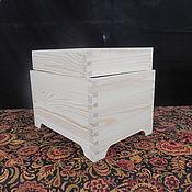 Материалы для творчества handmade. Livemaster - original item The box lid blank of wood. Handmade.