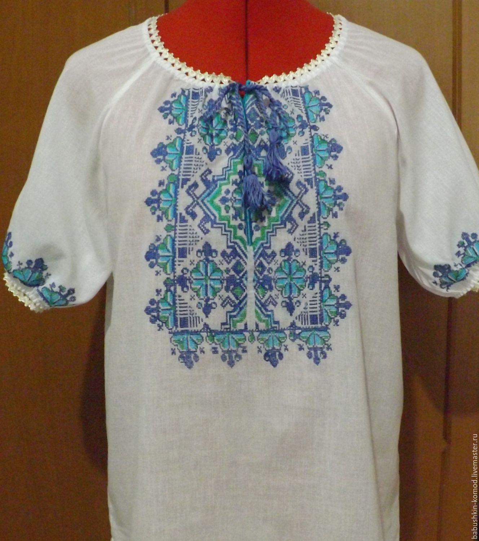 Женская вышиванка   ЖР3-62, Блузки, Темрюк,  Фото №1
