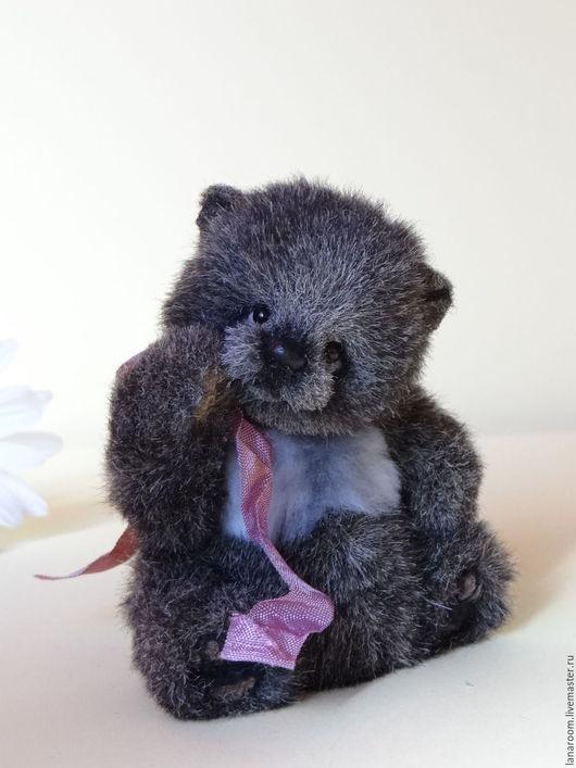 Мишки Тедди ручной работы. Ярмарка Мастеров - ручная работа. Купить мишка-тедди  крошка Бу (10,5 см). Handmade.