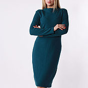 Одежда handmade. Livemaster - original item warm wool dress. Handmade.