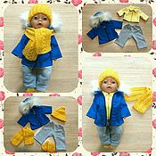 Одежда для кукол ручной работы. Ярмарка Мастеров - ручная работа комплект одежды на беби бона. Handmade.