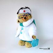 Куклы и игрушки ручной работы. Ярмарка Мастеров - ручная работа мишка Олежка. Handmade.