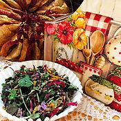 Для дома и интерьера ручной работы. Ярмарка Мастеров - ручная работа Короб для кухни Яблоко&Калина2. Handmade.