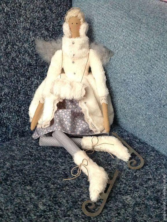 winter angel, Tilda Dolls, Moscow,  Фото №1