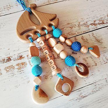 """Работы для детей, ручной работы. Ярмарка Мастеров - ручная работа Грызунок (прорезыватель) """"Кораблик"""". Handmade."""