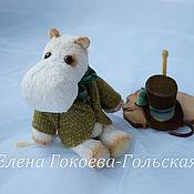 Куклы и игрушки ручной работы. Ярмарка Мастеров - ручная работа Муми папа. Handmade.