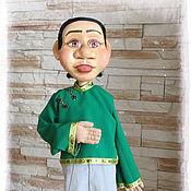 Куклы и игрушки ручной работы. Ярмарка Мастеров - ручная работа Театральная кукла на гапите №3. Handmade.
